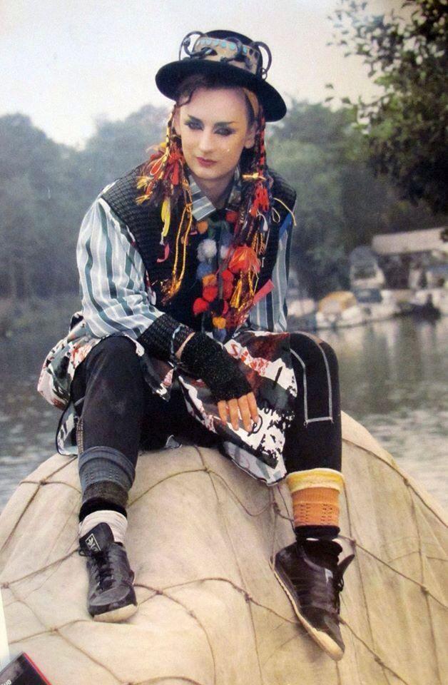 Boy George Adult Costume Culture Club Pop Music Karma Chameleon 80/'s Singer
