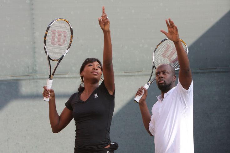 Venus Williams and Wyclef Jean