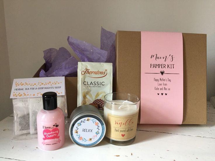 Handmade And Personalised Mother's Day Pamper Hamper Gift Set    eBay