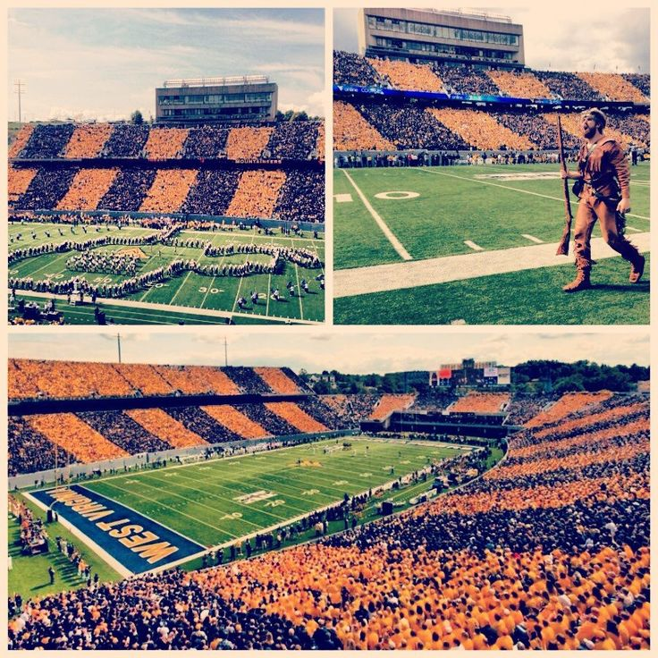 Milan Puskar Stadium in Morgantown, WV