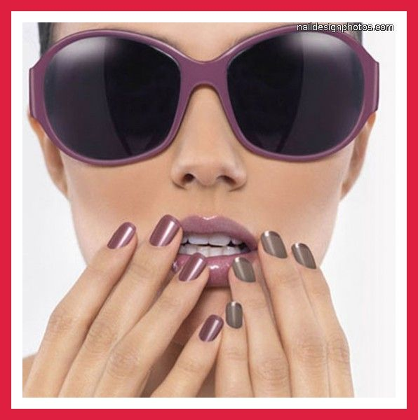 easy nail designs for short nails with nail polish