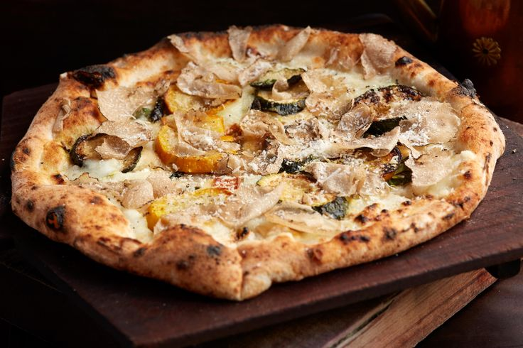 Delicious Napoletana pizzas coming hot out of our ovens all day