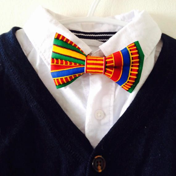bow tie for kids bow tie toddler bowties  african by JPJMstudio
