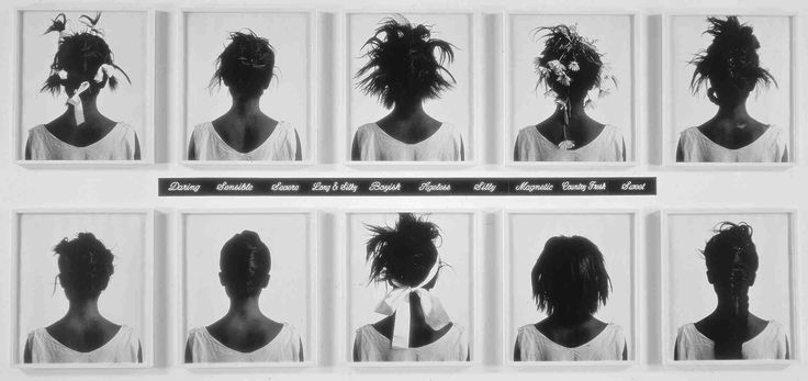 Lorna Simpson, Stereo Styles (1988