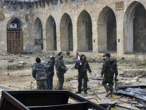 Siria da por concluida reconquista de Aleppo
