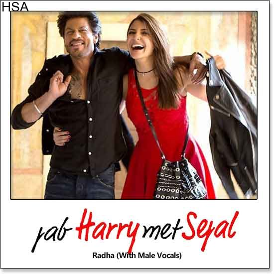 http://hindisingalong.com/radha-with-male-vocals-jab-harry-met-sejal.html   Name of Song - Radha (With Male Vocals) Album/Movie Name - Jab Harry Met Sejal Name Of Singer(s) - Sunidhi Chauhan, Shahid Mallya Released in Year - 2017 Music Director of Movie - Pritam Movie Cast - Sha...