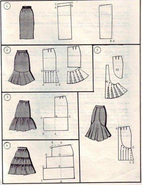 37 способов сшить юбку - Своими руками