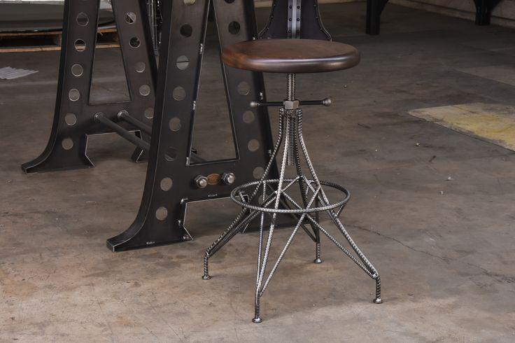 Rebar Stool by Vintage Industrial Furniture