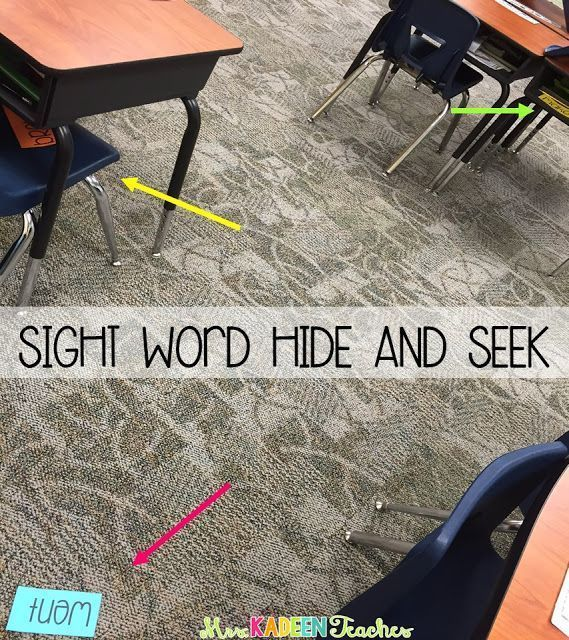 Fun ways to review sight words.