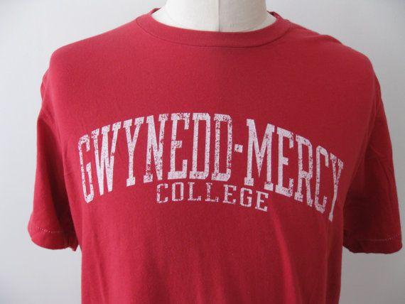 Vintage Gwynedd Mercy College Shirt Adult by TheVintageThrowback