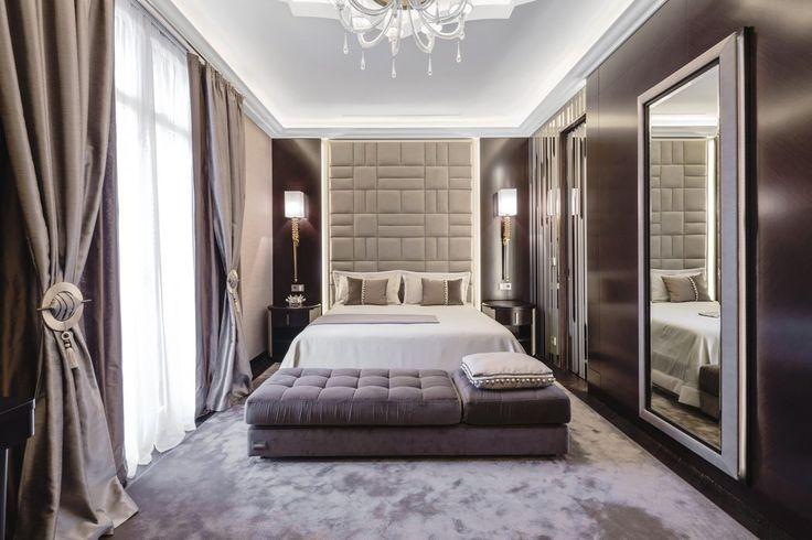 Une chambre moderne et très chaleureuse. #décoration #luxueuse #inspiration
