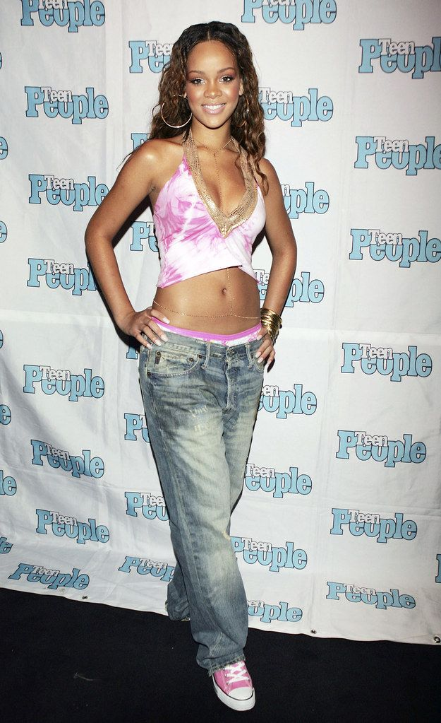 And Rihanna rocking the hell out of this belly chain. | 21 Pictures That Will Take You Straight Back To The '00s