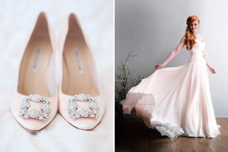 Baby Pink | Pastel wedding colour scheme inspiration from Rock My Wedding & De Beers Jewellery http://www.rockmywedding.co.uk http://www.debeers.co.uk