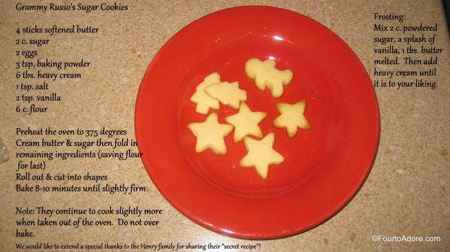 The best sugar cookie recipe, EVER!
