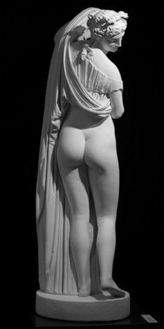 La taille étroite de l'Aphrodite Callipyge, dite Venus callipyge, serait un signe universel de beauté féminine. Crédit : Musée national, Naples