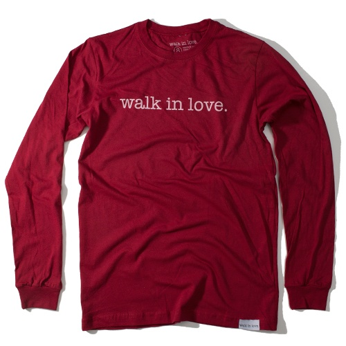 Walk in Love! T shirt size medium