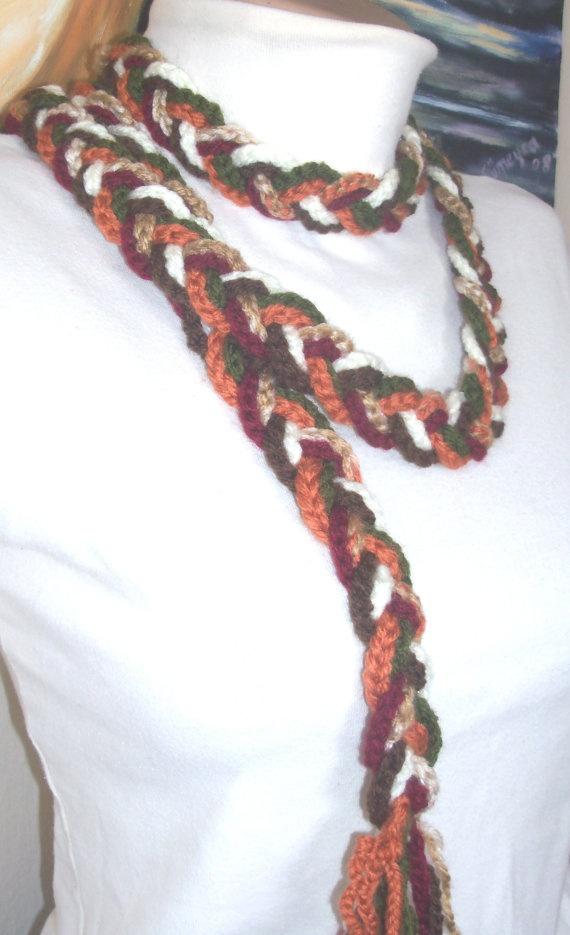 women's stilish scarf by colourfulrose on Etsy, $20.90