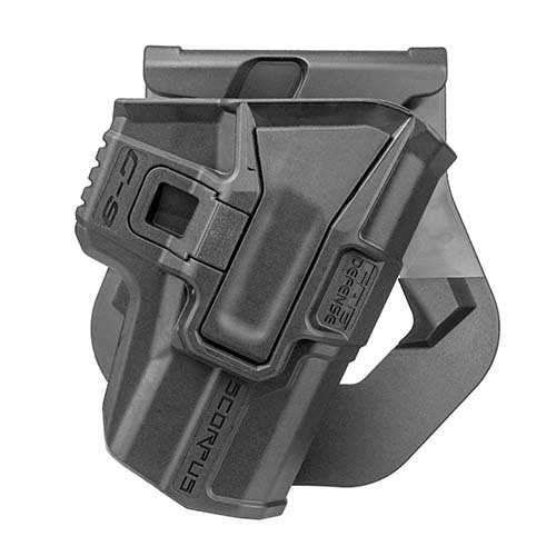 Model M24 Paddle Holster with Level 2 Retention 1911 Models, Ambidextrous, Black