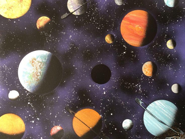 universe solar system paintings art - HD2048×1536