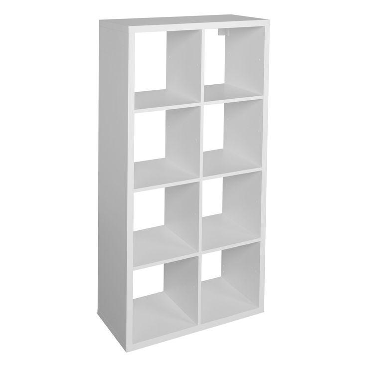 Form Mixxit White 8 Cube Shelving Unit (H)1420mm (W)740mm | Departments | DIY at B&Q