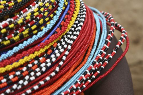 South African Beaded Jewelry   africa african beads colour colourful retro culture