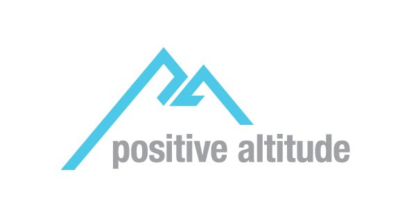 Name, Branding, Social Campaigns for Positive Altitude by STEVE PERRY, via Behance
