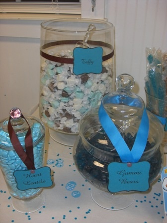 baby shower candy table by httpwwwsweet servingsblogspot