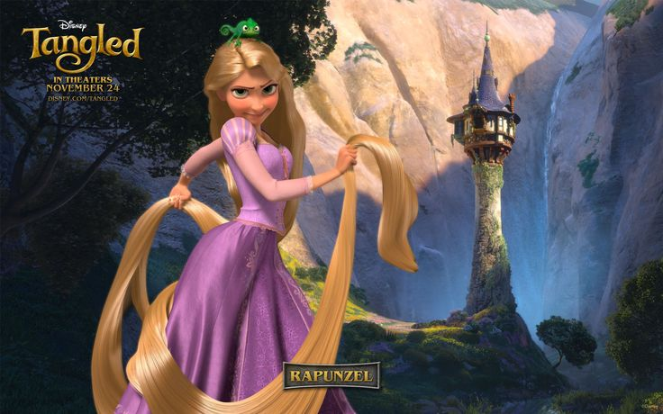 Disney Rapunzel Tangled   Rapunzel from Disney's Tangled wallpaper - Click picture for high ...