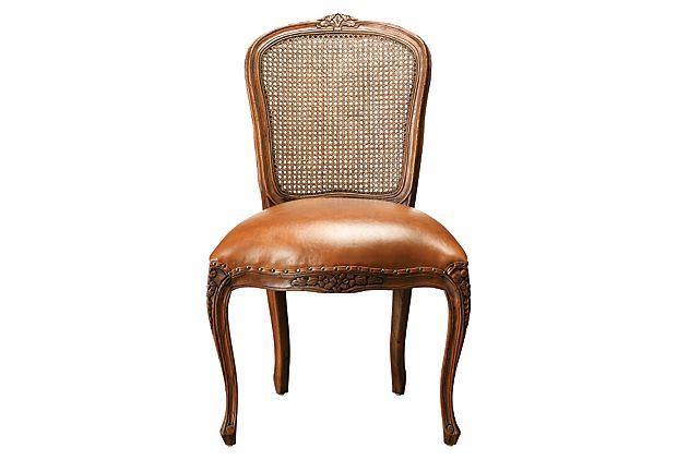 Cane Back Side Chair On Onekingslane Com Would Look