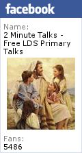 When I am Baptized I Make a Covenant with God - Free LDS Primary Talks