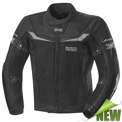 IXS-LEVANTE-Motorradjacke-Herren-Textil-Sommer-schwarz