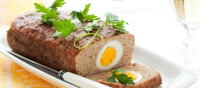 Gehaktbrood Met Ei recept | Smulweb.nl