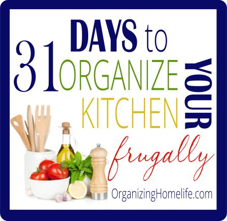 How to Organize a Kitchen Frugally