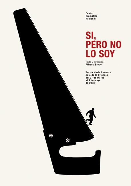 Isidro Ferrer. poster. #design #graphic #spain - http://www.isidroferrer.com