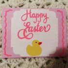 Happy Easter Greeting Card, Handmade,  USA Made, #401