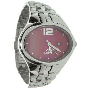 Novinka v našom eshope! Páčia sa Vám talianske luxusné hodinky Breil Milano? Čo poviete na tieto oválne, moderné s ružovo-bordovým ciferníkom?