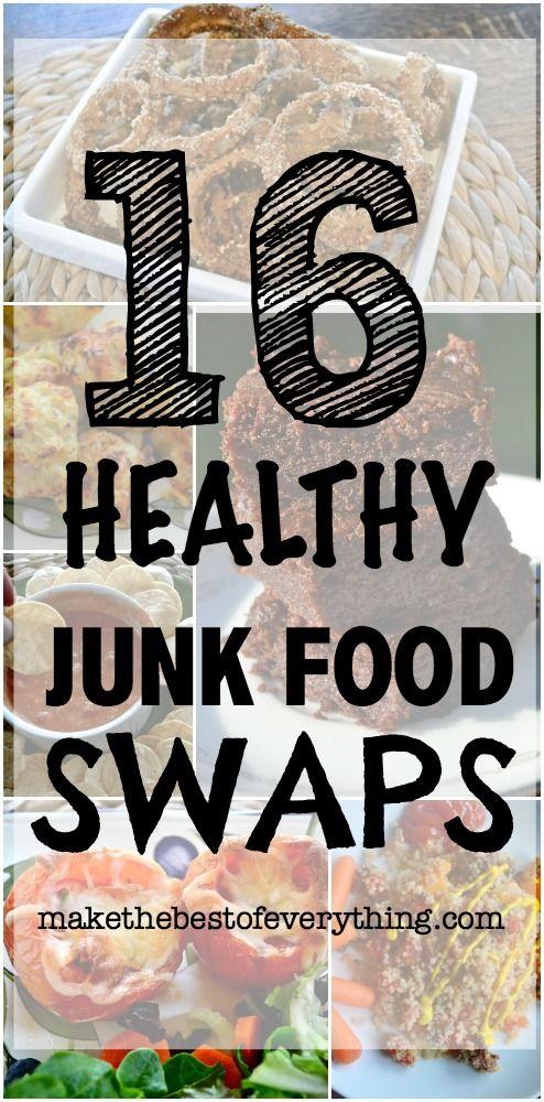 16 Healthy Junk Food Swaps