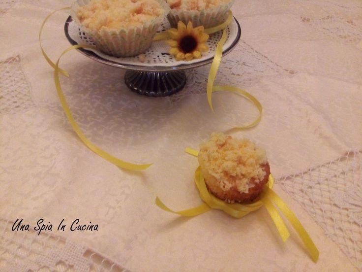 Muffin mimosa ed è primavera