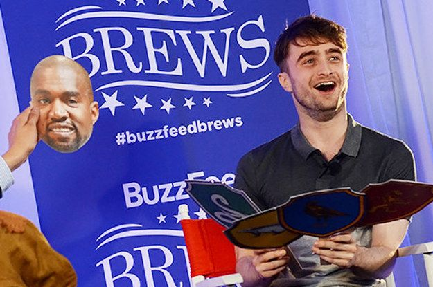 Daniel Radcliffe Sorts Celebrities Into Different Hogwarts Houses