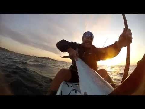 Kayak Fishing for Queen Mackerel in Durban - YouTube