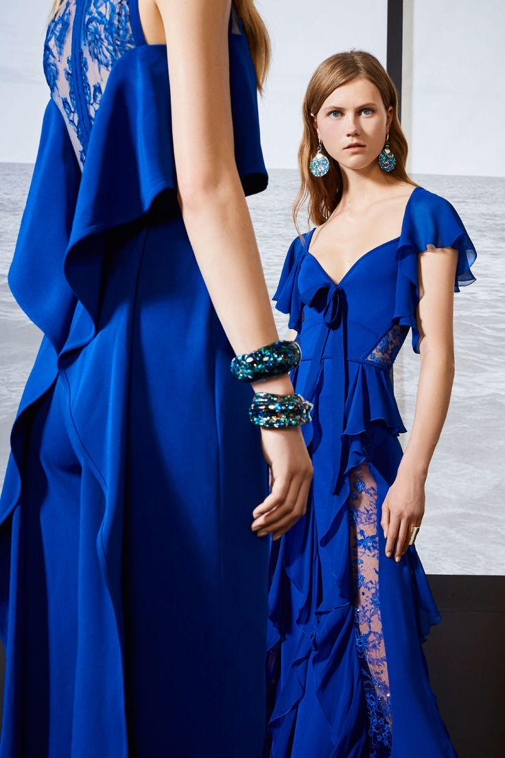 70 Best Vip Fasion Images On Pinterest Feminine Fashion Ladies Magnolia Wrap Tie Shirt Wanita Putih Elie Saab Resort 2018 Show