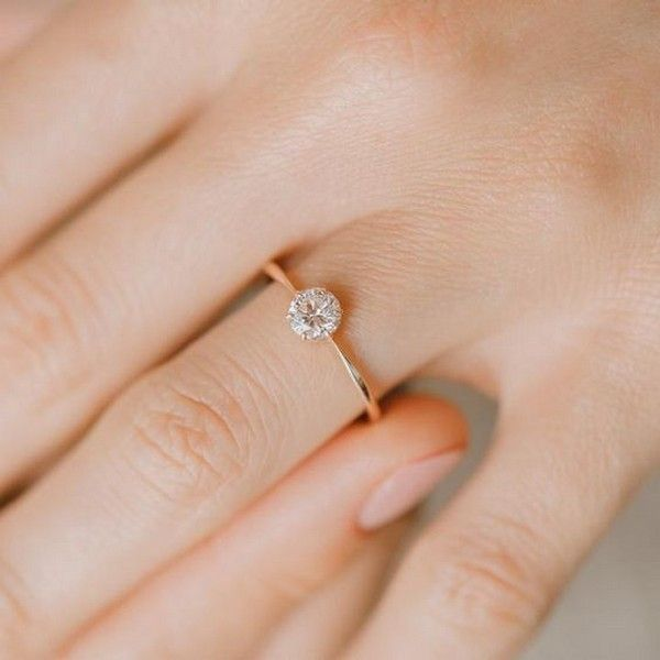 15 Simple Classic Wedding Engagement Rings Emmalovesweddings Delicate Engagement Ring Wedding Rings Simple Wedding Rings Engagement