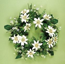 EDELWEISS FLOWER WREATH