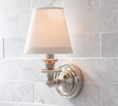 Sussex Shade Sconce #potterybarn