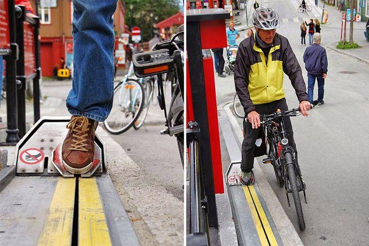 ALLPE Medio Ambiente Blog Medioambiente.org : El primer y único ascensor para bicicletas del mundo