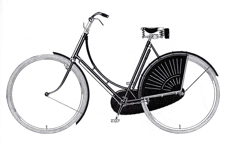 1920 De Nederlandse fiets / The Dutch bike.  The traditional Dutch bike is nothing but a British safety-bike. From the beginning Dutch manufacturers, however, have promoted 'the Dutch bike' as an unchangeable product. A bicycle is a useful engineering product, as argued a.o. Batavus, Burgers, Fongers and Gazelle and not purely a product for entertainment, such as it was promoted in the neighboring countries. It was from the start simple and sober, and hardly changed in the course of decades.