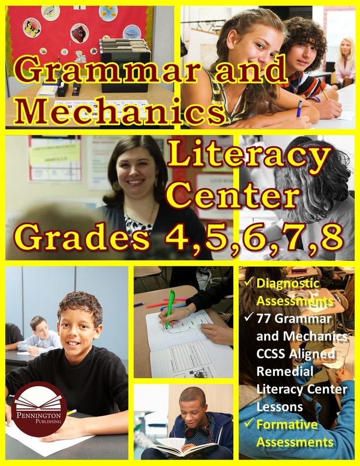 Check out our new grades 4-8 remedial literacy center.