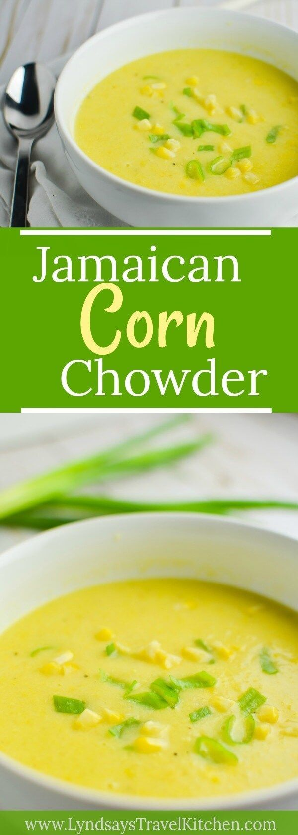 This vegan corn chowder is a taste of the tropics! Gluten-Free and on the table in 30 minutes or less.