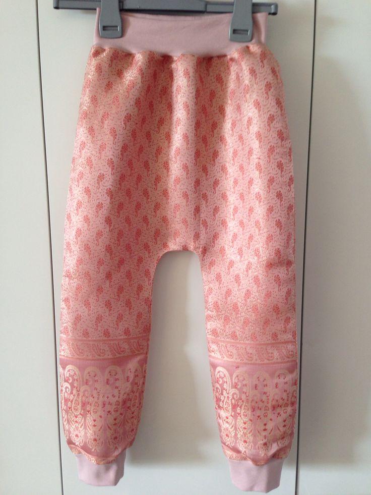 Bukser af silke tørklæde