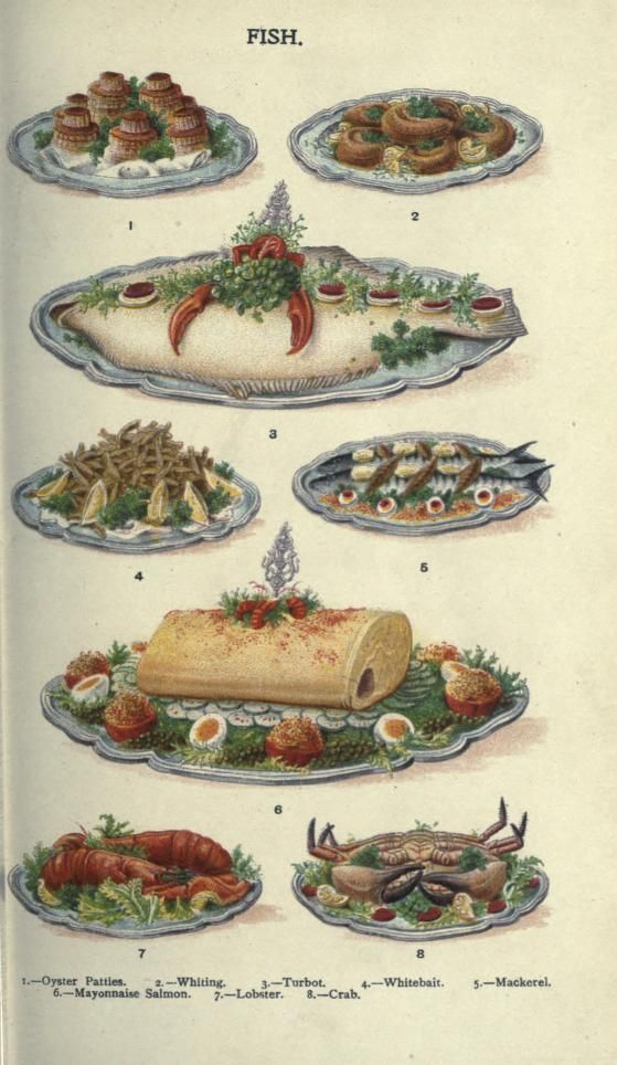 Fish. Mrs. Beeton's household management : a guide to...